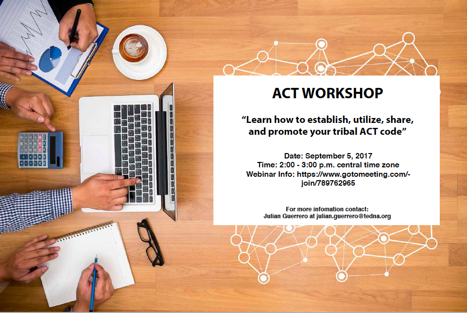 ACT Workshop - Save the Date